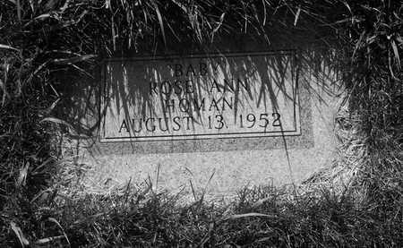 HOMAN, ROSE ANN - Plymouth County, Iowa | ROSE ANN HOMAN