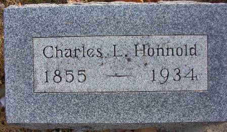 HONNOLD, CHARLES L. - Plymouth County, Iowa | CHARLES L. HONNOLD