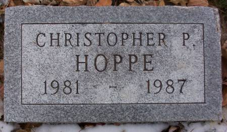 HOPPE, CHRISTOPHER P. - Plymouth County, Iowa | CHRISTOPHER P. HOPPE