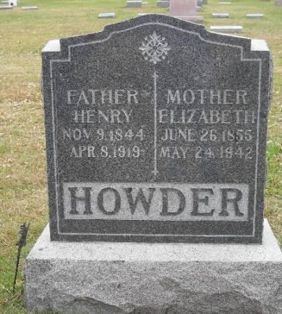 HOWDER, HENRY - Plymouth County, Iowa | HENRY HOWDER