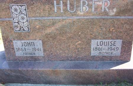 HUBER, LOUISE - Plymouth County, Iowa | LOUISE HUBER