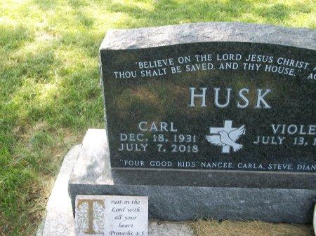 HUSK, CARL - Plymouth County, Iowa   CARL HUSK