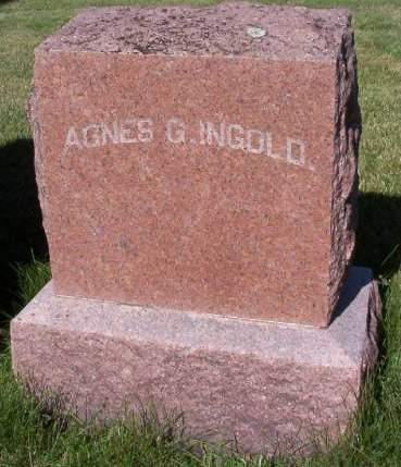 INGOLD, AGNES G. - Plymouth County, Iowa | AGNES G. INGOLD