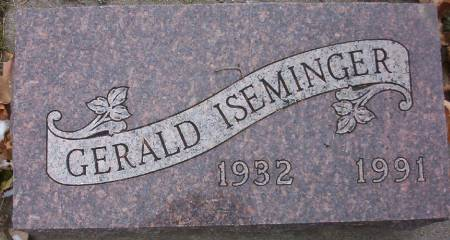 ISEMINGER, GERALD - Plymouth County, Iowa | GERALD ISEMINGER