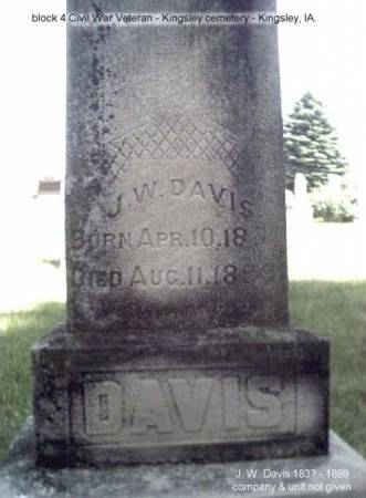 DAVIS, J. W. - Plymouth County, Iowa | J. W. DAVIS