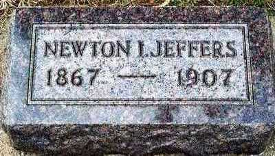 JEFFERS, NEWTON ISAAC - Plymouth County, Iowa | NEWTON ISAAC JEFFERS