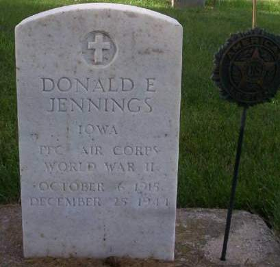JENNINGS, DONALD E. - Plymouth County, Iowa | DONALD E. JENNINGS