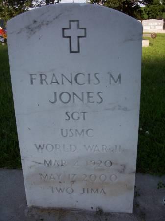 JONES, FRANCIS MILTON - Plymouth County, Iowa | FRANCIS MILTON JONES
