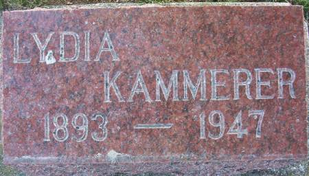 KAMMERER, LYDIA F. - Plymouth County, Iowa   LYDIA F. KAMMERER