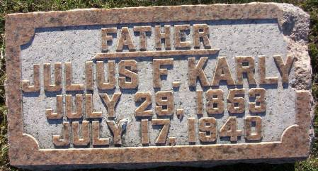 KARLY, JULIUS F. - Plymouth County, Iowa | JULIUS F. KARLY