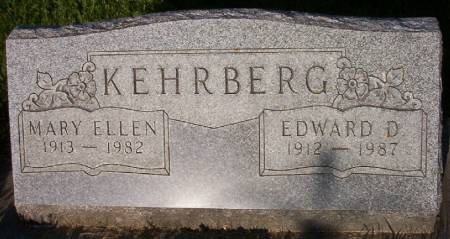 KEHRBERG, EDWARD D. - Plymouth County, Iowa | EDWARD D. KEHRBERG