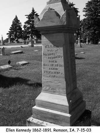 KENNEDY, ELLEN - Plymouth County, Iowa | ELLEN KENNEDY
