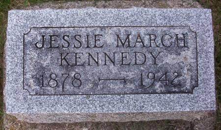 MARCH KENNEDY, JESSIE - Plymouth County, Iowa | JESSIE MARCH KENNEDY