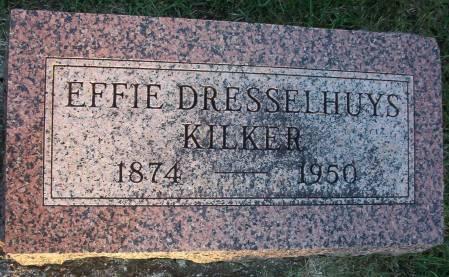 DRESSELHUYS KILKER, EFFIE - Plymouth County, Iowa | EFFIE DRESSELHUYS KILKER