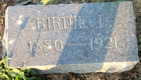 POYZER KING, BIRDIE L. - Plymouth County, Iowa | BIRDIE L. POYZER KING