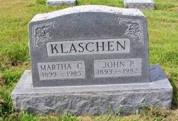 KLASCHEN, MARTHA - Plymouth County, Iowa | MARTHA KLASCHEN
