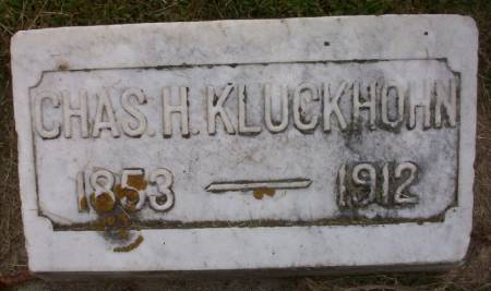 KLUCKHOHN, CHARLES H. - Plymouth County, Iowa   CHARLES H. KLUCKHOHN