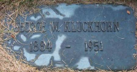 KLUCKHOHN, GEORGE W. - Plymouth County, Iowa | GEORGE W. KLUCKHOHN