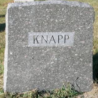 KNAPP, FAMILY  STONE - Plymouth County, Iowa | FAMILY  STONE KNAPP