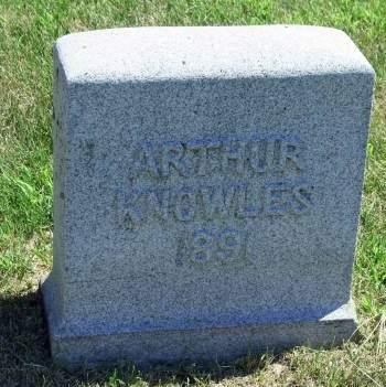 KNOWLES, ARTHUR - Plymouth County, Iowa | ARTHUR KNOWLES