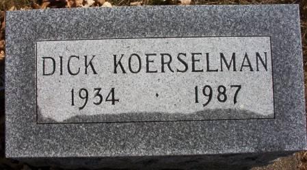 KOERSELMAN, DICK - Plymouth County, Iowa | DICK KOERSELMAN