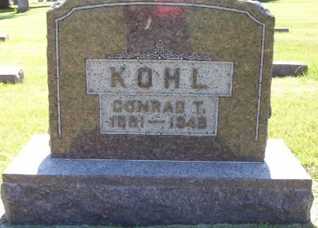 KOHL, CONRAD T. - Plymouth County, Iowa | CONRAD T. KOHL