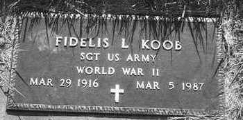 KOOB, FIDELIS - Plymouth County, Iowa | FIDELIS KOOB