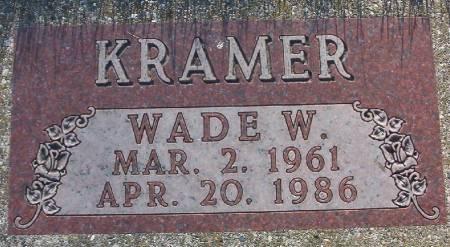 KRAMER, WADE W. - Plymouth County, Iowa | WADE W. KRAMER
