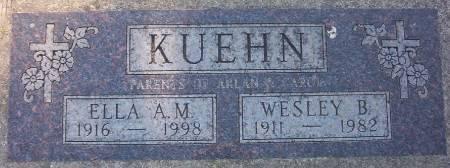 KUEHN, WESLEY B. - Plymouth County, Iowa | WESLEY B. KUEHN