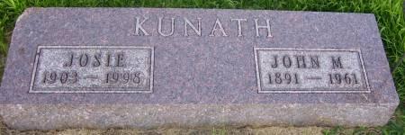 OSBORNE KUNATH, JOSIE F. - Plymouth County, Iowa | JOSIE F. OSBORNE KUNATH
