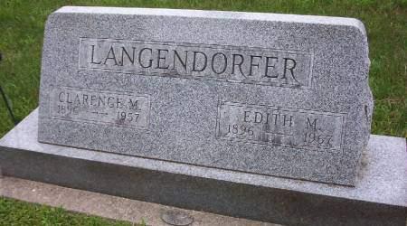 LANGENDORFER, EDITH M. - Plymouth County, Iowa | EDITH M. LANGENDORFER