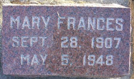 LANGENDORFER, MARY FRANCES - Plymouth County, Iowa | MARY FRANCES LANGENDORFER