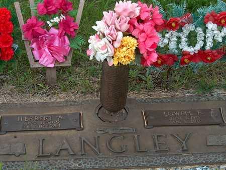 LANGLEY, HERBERT A. - Plymouth County, Iowa | HERBERT A. LANGLEY