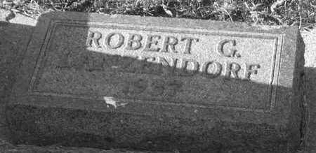 LANZENDORF, ROBERT G. (GENGLER) - Plymouth County, Iowa   ROBERT G. (GENGLER) LANZENDORF