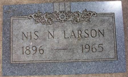 LARSON, NIS NELSON - Plymouth County, Iowa   NIS NELSON LARSON
