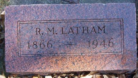 LATHAM, REGINALD M. - Plymouth County, Iowa | REGINALD M. LATHAM