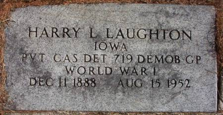 LAUGHTON, HARRY L. - Plymouth County, Iowa | HARRY L. LAUGHTON