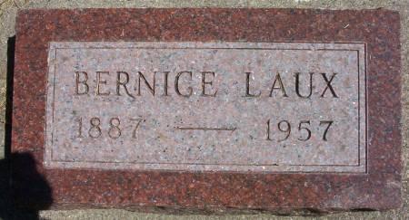 LAUX, BERNICE ANTOINETTE - Plymouth County, Iowa | BERNICE ANTOINETTE LAUX
