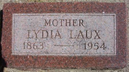 LAUX, LYDIA A. M. - Plymouth County, Iowa | LYDIA A. M. LAUX