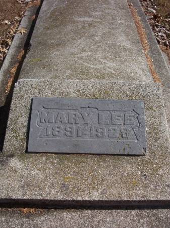 LEE, MARY - Plymouth County, Iowa | MARY LEE