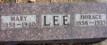 LEE, HORACE GREELEY - Plymouth County, Iowa | HORACE GREELEY LEE