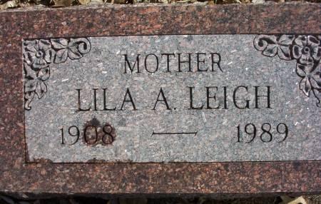 LEIGH, LILA A. - Plymouth County, Iowa | LILA A. LEIGH