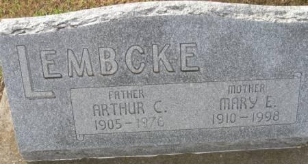 LEMBCKE, ARTHUR C. - Plymouth County, Iowa | ARTHUR C. LEMBCKE