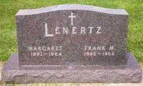 LENERTZ, MARGARET - Plymouth County, Iowa   MARGARET LENERTZ