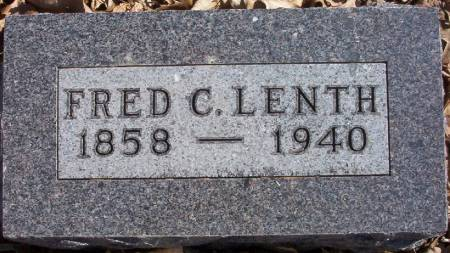 LENTH, FRED C. - Plymouth County, Iowa   FRED C. LENTH