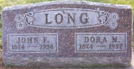 LONG, DORA MAE - Plymouth County, Iowa | DORA MAE LONG
