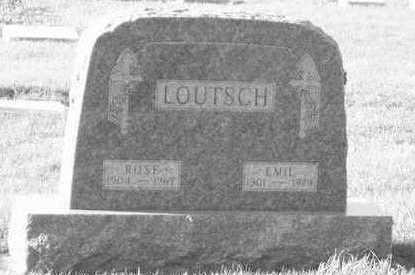 LOUTSCH, ROSE - Plymouth County, Iowa | ROSE LOUTSCH