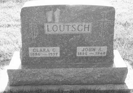 LOUTSCH, CLARA C. - Plymouth County, Iowa | CLARA C. LOUTSCH