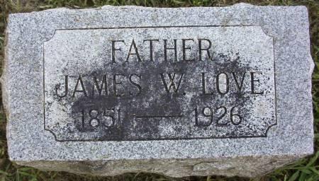 LOVE, JAMES W. - Plymouth County, Iowa | JAMES W. LOVE