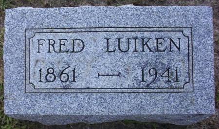 LUIKEN, FREDRICK J. - Plymouth County, Iowa | FREDRICK J. LUIKEN
